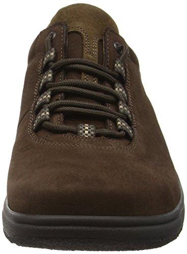 Ganter Aktiv Heimo, Weite H, Zapatos de Cordones Brogue para Hombre Marrón - Braun (espresso / mocca 2029)
