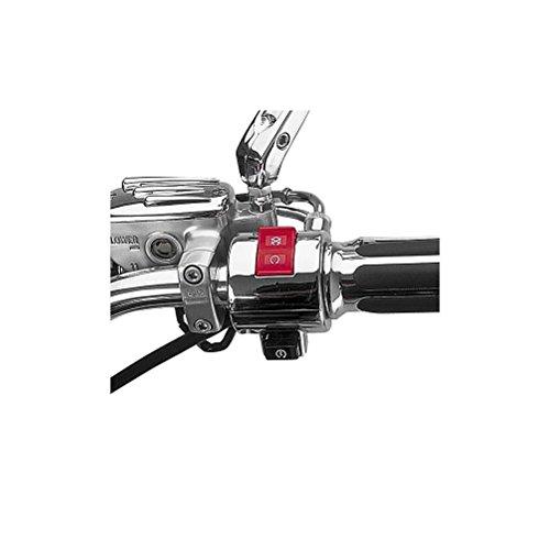 Show Chrome Accessories 51-333C Chrome Switch Housing (51-333C Lh H-Bar Switch Hsg-Honda) (Bar 333)