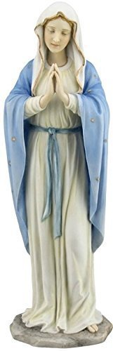 11.75 Inch Blessed Virgin Mary Decorative Figurine, Pastel (Virgin Mary Figurine)