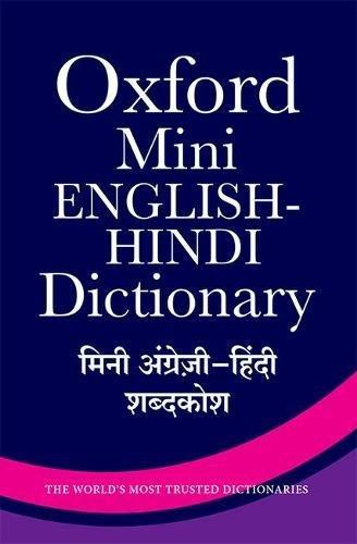 Mini English Hindi Dictionary