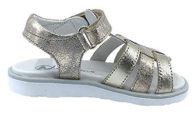 Naturino Girls Bright Rasso Leather Sandals