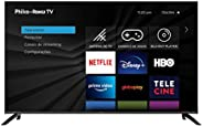 "Smart TV Roku 4K UHD 58"" TV PTV58G70RCBL 4K LED - Wi-Fi 3 HDMI, USB, PHILCO"