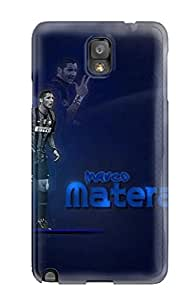Rugged Skin Case Cover For Galaxy Note 3- Eco-friendly Packaging(marco Materazzi)