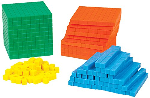 MAB base ten blocks classroom set