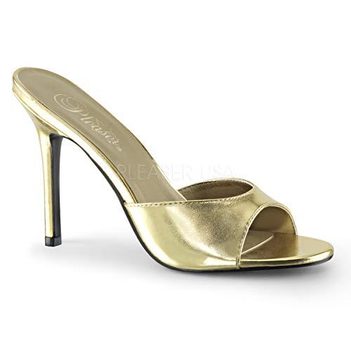 Pleaser Women's Classique-01 Slide Sandal