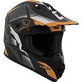 CKX Unisex-Adult's Landslide TX228 Off-Road Helmet (Matte Orange, Small)