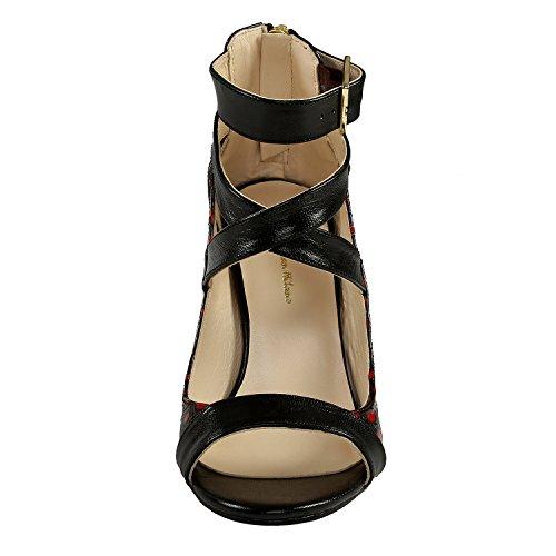 Sandaalit Korkokengät Naisten Custom Korkokengät Korkea Häät Suunnittelija 118 Morsiamen Punainen Käsityönä Milano Christian 4EWgS