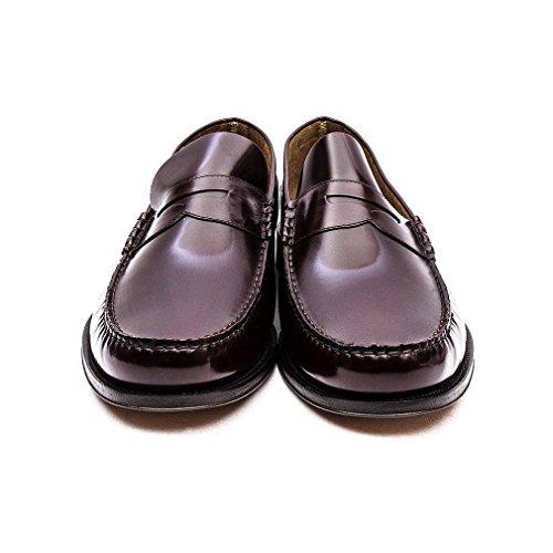 Moccasin Leather Loake Princeton Burgund Schuhe xY0wHqaqU