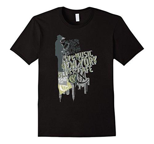 Mens Jam Session NYC R&B Blues Music Lover Women Men Kids T-Shirt Large - New York Rb