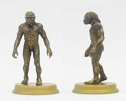 Ape Man 4 Sculpture Ornament Artwork The Origin Of Mankind Human Evolution Theory ApeMan Anthropozoic Doll Static Model Playing Toy,Ape Man