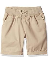 U.S. Polo Assn... - Bermuda - Pantalón Corto de Sarga para niña