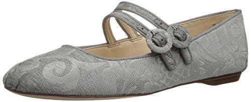 Zapato De Piso West Nine Grey Fabric Mujeres Talla grey qznExntv