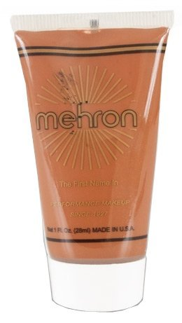 Mehron Fantasy FX Face Painting Makeup 1 oz - Creole Brown