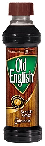 Old English Scratch Cover For Dark Woods, 8 fl oz Bottle, Wood Polish (Old Wood Furniture)