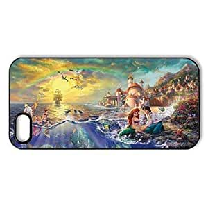 CSKFUHP DF Romantic Beautiful Ariel The Little Mermaid Pattern Plastic Hard Case for iphone 6 4.7 inch iphone 6 4.7 inch/