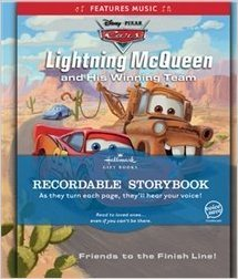 "Hallmark Recordable Storybook ""Lightning McQueen and His Winning Team"" pdf"