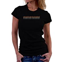 Wheelchair Basketball repeat retro Women T-Shirt