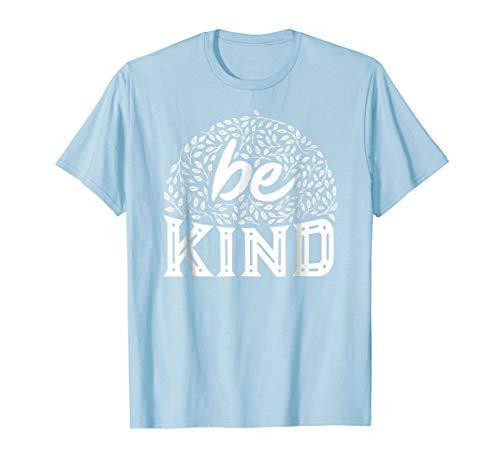 Be Kind Tshirts Anti Bullying Shirt Cute Floral Letter Print