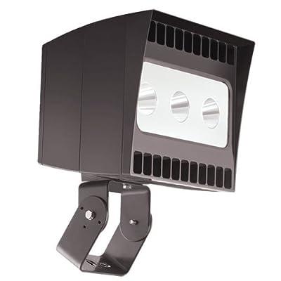 RAB EZLED78T - 78 Watt - LED Spotlight - 5000K Stark White - 120/208/240/277 Volt - Bronze Finish