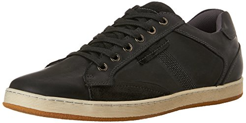 Steve Madden Men's Peamont Fashion Sneaker, Black, 10.5 M US