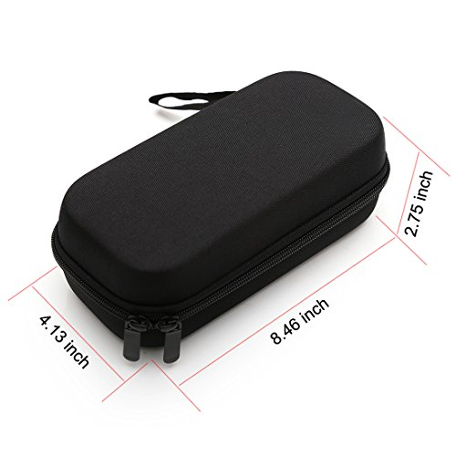 Dainayw Insulin Carrying Case, EVA Insulin Cooler Bag, Diabetic Travel Bag, Temperature Display, Waterproof, Medical with 3 Ice Packs (Black) by dainayw (Image #5)