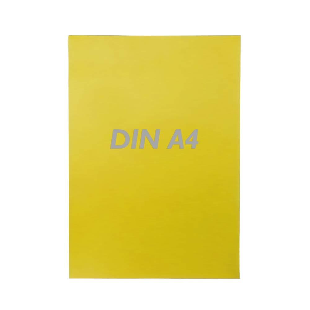 PrimeMatik - Cartel etiqueta magnética flexible amarillo A4 ...