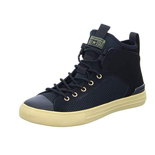 Converse Unisex-Erwachsene Chuck Taylor CTAS Ultra Mid Sneakers Mehrfarbig (Black/Field Surplus 001)