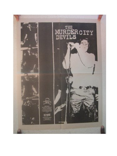 The Murder City Devils Poster Band Shot Concert Modest Mouse