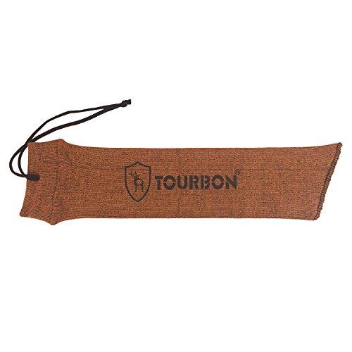 Tourbon Tactical Handgun Sleeve Pistol Gun Sock 15 Inch -Orange