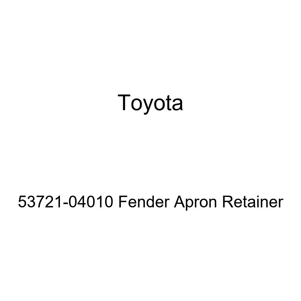 Genuine Toyota 53721-04010 Fender Apron Retainer