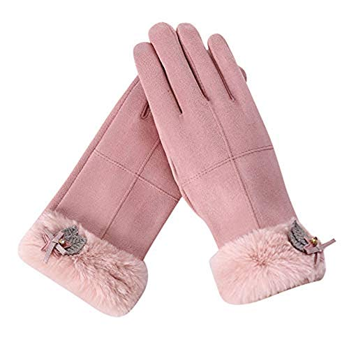GOVOW Hot Sale!Gloves for Work Cold Weather Winter Solid Full Finger Hand Outdoor Sport Warm -