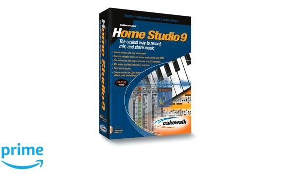 Amazon com: TWELVE TONE SYSTEMS Cakewalk Home Studio 9: Software