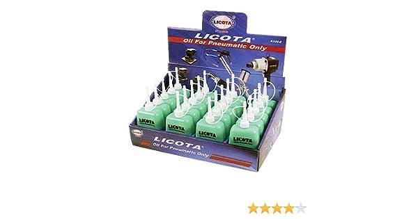 Oferta de hoy!!!! MC-1098K Caja de aceite especial para herramientas neumáticas y engrasadores de linea, equipada con 20 unds de botellines de 100 cc.