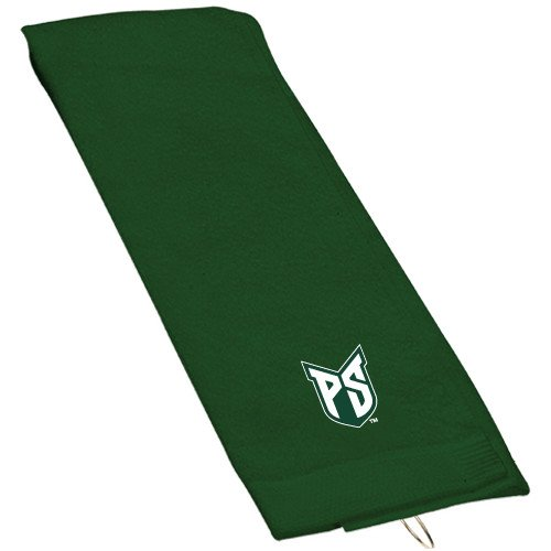 Portland State Dark Green Golf Towel 'Official Logo' by CollegeFanGear