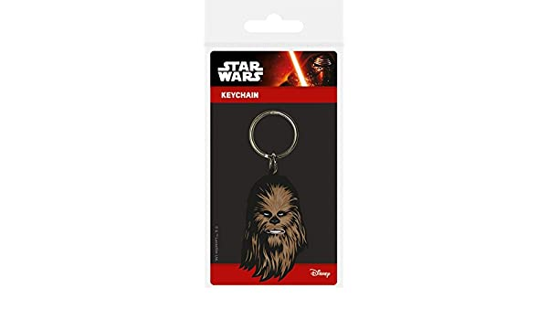 1art1® Star Wars - Chewbacca Llavero (6 x 4cm): Amazon.es: Hogar