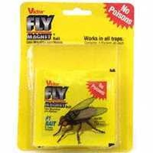 NEW VICTOR M383 PACK OF (3) FLY MAGNET TRAP REPLACEMENT BAIT INSECT KILLER SALE (Trap Replacement Bait)