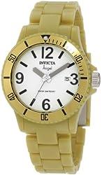 Invicta Women's 1214 Angel White Dial Green Plastic Watch