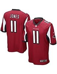 NIKE NFL Men's Atlanta Falcons Julio Jones Jersey - Red - Above $100 is Robbery