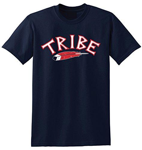 Local Imprint Tribe T Shirt-XL-Navy-R7 (Cleveland Indians Tee Shirts)