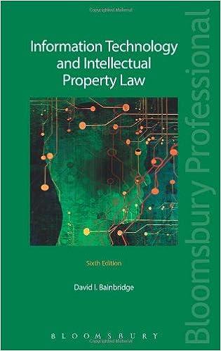 Livres gratuits à télécharger sur ipad 2Information Technology and Intellectual Property Law: Sixth Edition by David I. Bainbridge PDF FB2 1780431244
