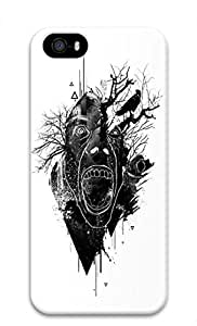 Cool Abstract Painting Deer Custom Slim 3D Case For Ipod Touch 4 Cover
