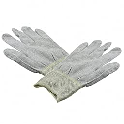 Anti-Static Control Products ESD INSP GLOVES XLARGE (5 pieces)