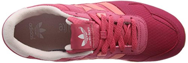 Adidas Girls Zx 700 J Low-Top Sneakers, Pink (Crapnk/Raypnk/Ftwr White), 4 Child UK 36 2/3 EU