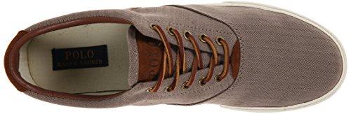Polo Ralph Van Mensen Lauren Vaughn Fashion Sneaker Donker Khaki