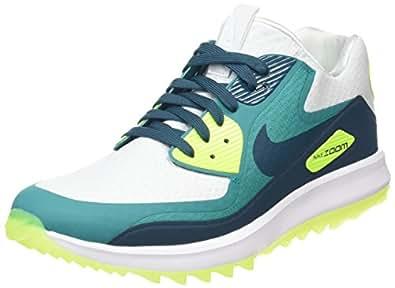 Nike Air Zoom 90 IT Spikeless Golf Shoes 2017 Pure Platinum/Midnight Turq/Rio Teal Medium 9.5