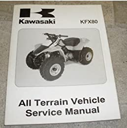 2003 kawasaki kfx80 atv service shop repair manual oem kawasaki rh amazon com kawasaki kfx 80 repair manual kawasaki kfx 80 service manual