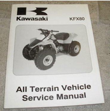 2003 kawasaki kfx80 atv service shop repair manual oem kawasaki rh amazon com KFX 80 Forum 2005 KFX 80