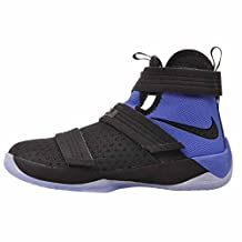 Nike Lebron Soldier 10 (GS) Hi Top Basketball Trainers 845121 Sneakers Shoes