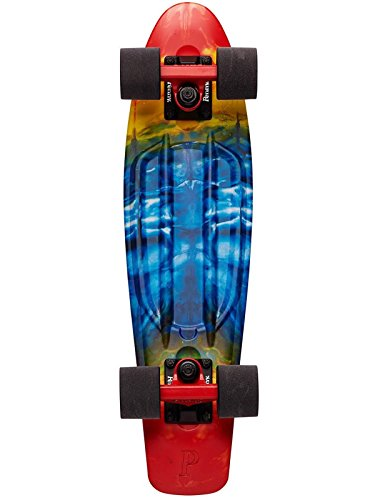 Penny Graphic Skateboard - Rainbow Bridge - Rainbow Penny Skateboard