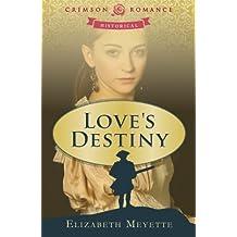 Love's Destiny by Elizabeth Meyette (2012-06-04)
